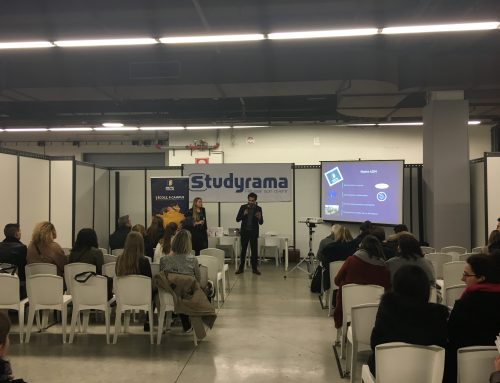 The book presented at the Salon des formations du Luxe – Studyrama