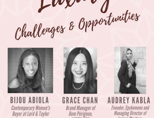"""""""Marque & Luxe"""" au débat des femmes du Luxe de Brooklyn College"""