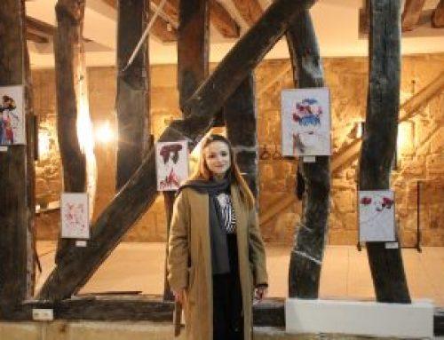 La vidéo du vernissage de Siriane Bajot présentée par Audrey Kabla