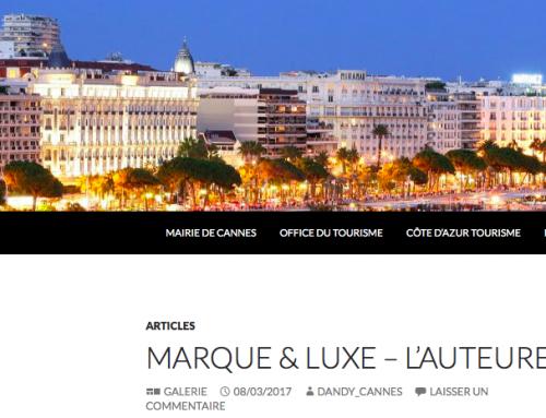 Marque & Luxe revient chez DandyCannes.fr