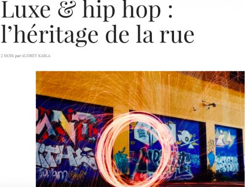 Luxe & hip hop dans le Journal du Luxe !