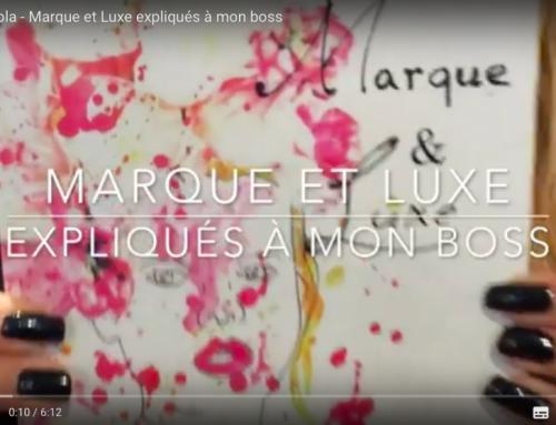"""Du Luxe, des Marques & un livre chez """"A mon boss"""" !"""