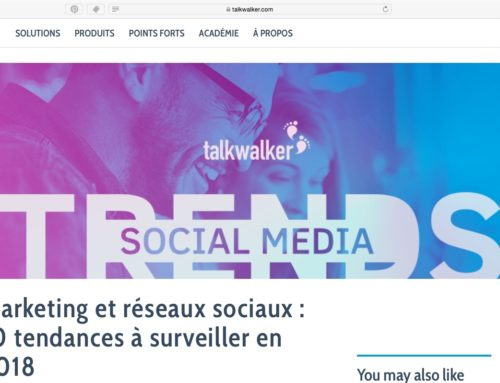 Audrey Kabla écrit sur le Marketing en 2018 pour Talkwalker