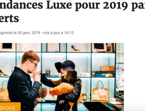 E-marketing cite Audrey Kabla dans son articles sur les tendances du Luxe en 2019 !